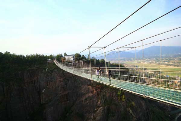 湖南石牛寨玻璃桥旅游攻略