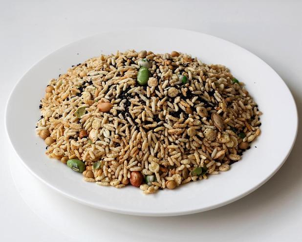 石牛寨美食,平江炒米