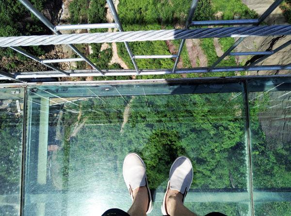 最险玻璃桥