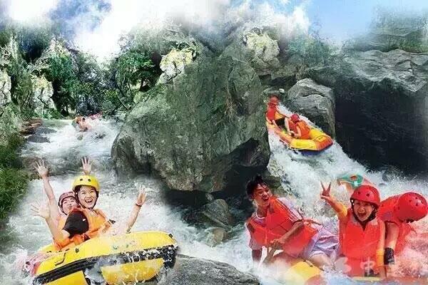 莽洞峡谷漂流