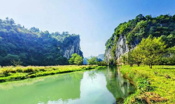 石牛寨周边湄江风景区
