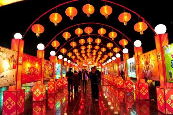 石牛寨春节灯会