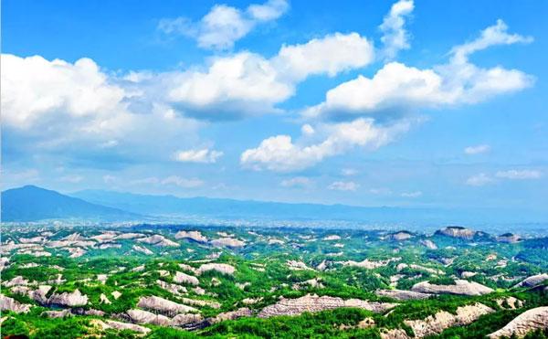 石牛寨丹霞地貌景观