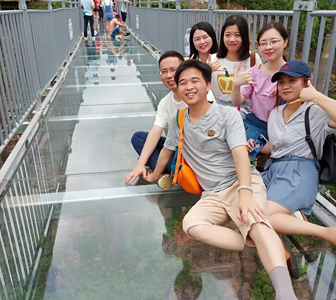 石牛寨玻璃桥,高空玻璃桥