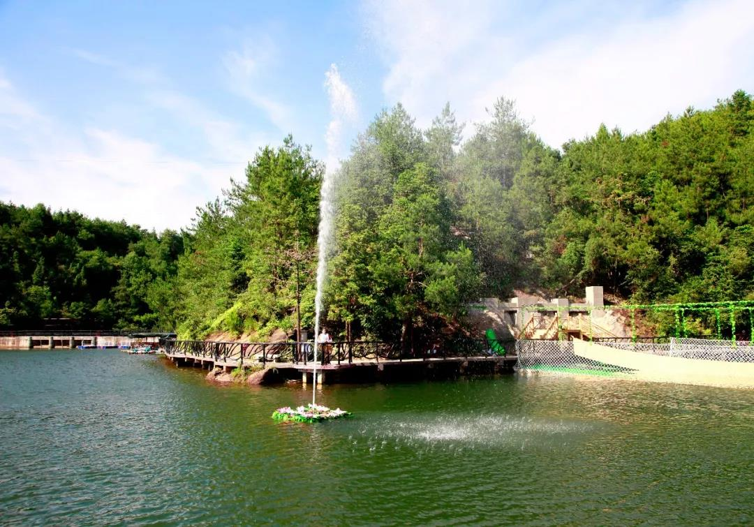 石牛寨呐喊喷泉