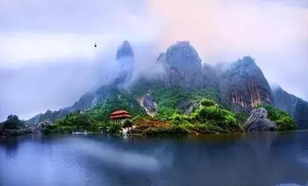 冬季石牛寨岳阳必去的景点!