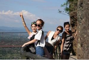 游客对平江石牛寨的评价