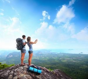 石牛寨分享:爬山锻炼好处多多!