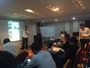 湖南平江石牛寨景区召开国庆总结会议