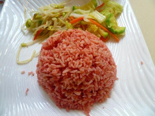 石牛寨红米饭