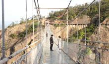 中秋穷游石牛寨玻璃桥,记大一女生的旅行史