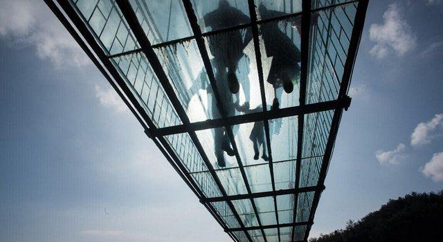 石牛寨玻璃桥夏季必去的景点