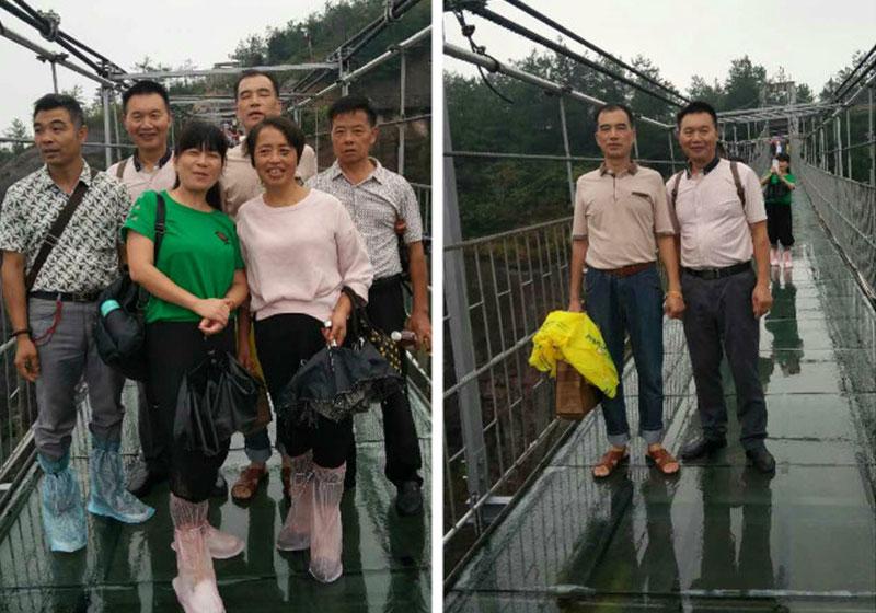 湘潭刘先生一家人石牛寨一日游