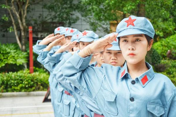 平江研学旅行路线!红军行学习革命精神