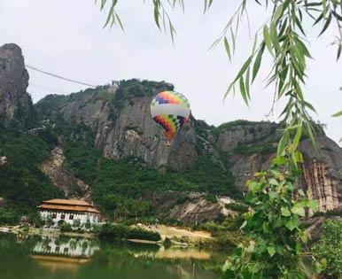 石牛寨热气球