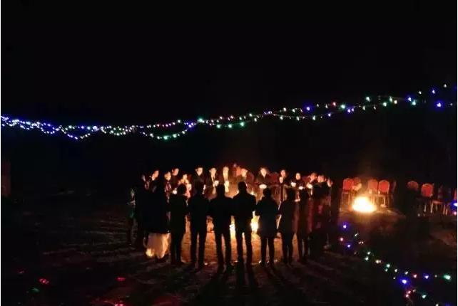 石牛寨篝火晚会